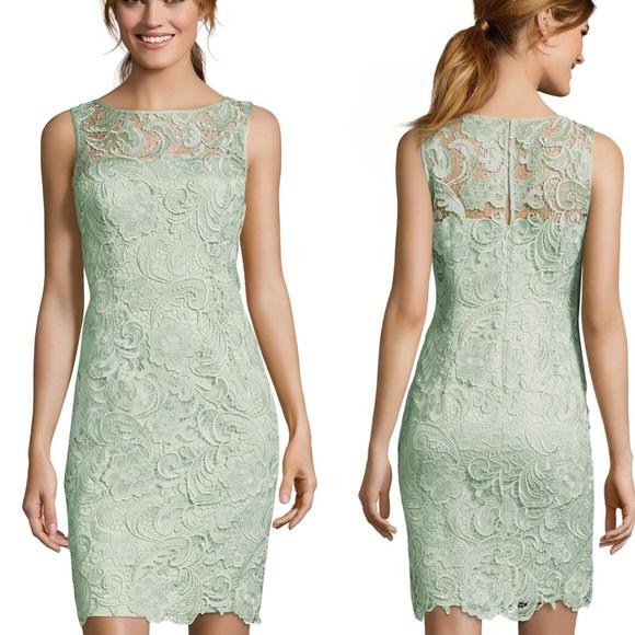 c3c50bbb Adrianna Papell Dresses | Lace Sheath Dress | Poshmark